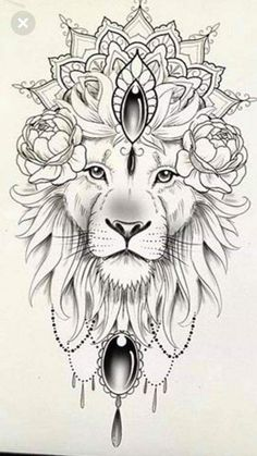 100 Trendy Tattoo Ideas for Your Best Inspired Year 2019 - Tattoos - . - 100 Trendy Tattoo Ideas for Your Best Inspired Year 2019 – Tattoos – … # - Leo Tattoos, Animal Tattoos, Black Tattoos, Body Art Tattoos, Mini Tattoos, Tatoos, Lion Tattoo Design, Mandala Tattoo Design, Tattoo Designs
