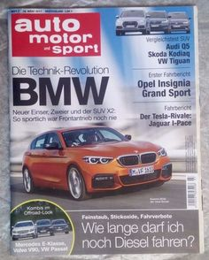 """auto  motor und sport! """" Revolution ~ BMW """" ! Ausg.:   16. März 2017 !.NEU!"""