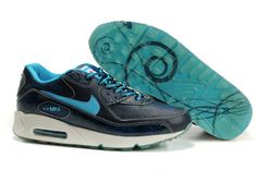 competitive price 42be0 49cff Buy Super Deals 315728 441 Womens Nike Air Max 90 Premium Chicago Edition  Midnight Navy Vivid Blue Crt Blue from Reliable Super Deals 315728 441  Womens Nike ...