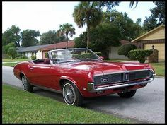 I could drive just about anything made in 69 or 70!  1969 Mercury Cougar XR7 Convertible