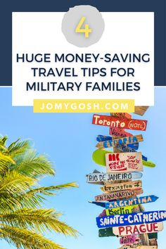 #ad Save BIG with these ideas for military families who love to travel. Whether you're on a staycation or headed across the country or the world, use your benefits and tools to lower the costs of your trip. #military #militaryfamily #militarydiscount #militarydiscounts #milspouse #militaryspouse #milso #milsos #milspo #milspos #finances #savingmoney #lovetotravel #traveltips #travelhelp #NFPartner