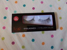 J.ca Beauty Fake Eyelashes and Eyelash Glue.  EL 747L. BNIB