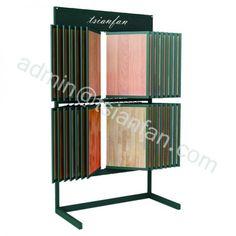 WDF605 New Design Floor Standing Plank Metal Display