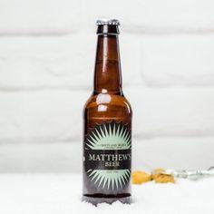 Personalised Beaming Beer