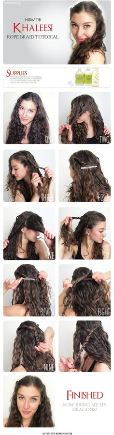 An easy half up braid tutorial for curly hair pinterest braid fuel your braid obsession game of thrones inspired hairstyles solutioingenieria Image collections