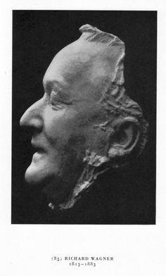 Death mask of Richard Wagner
