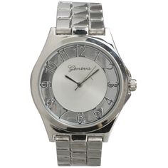 Olivia Pratt Women's Floating Numerals Alloy Bracelet Watch