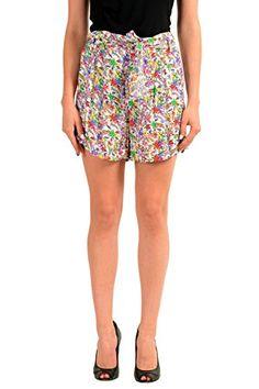 bb62f3c442 Just Cavalli Multi-Color Women s Casual Shorts US S IT 40