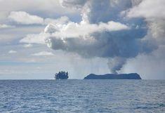 Undersea eruptions near Tonga 1/4