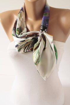 #scarf  #Neck #Scarf L Kerchief Scarf Fashion Women #accessories #fashion #women #trends #2018 #newarrivals