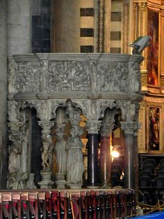 Pisa Cathedral - Pulpit
