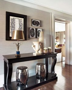 Entryway Makeover Reveal!! | Pinterest | Decorating, Console tables ...