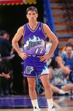 Jazz Players, Nba Players, Basketball Legends, Basketball Players, John Stockton, Karl Malone, Man Crush Everyday, Utah Jazz, Wnba