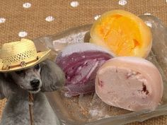 "Mochi Ice Cream もちアイス From my flavorite youtube cooking show called ""Cooking with Dog"". Haaa."