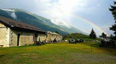 Arcobaleno al Forte Bramafam (Bardonecchia)  #myValsusa 01.09.17 #fotodelgiorno di Forte di Bramafam