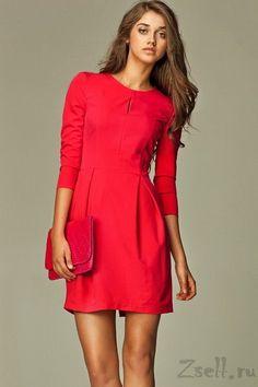 красное платье повседневное - Поиск в Google
