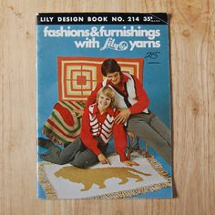 Fashions and Furnishing with Lily Yarn Knitting by TheVintageBook, $2.79