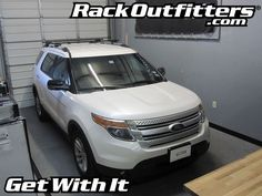Rack Outfitters - Ford Explorer Thule Crossroad SQUARE BAR Roof Rack 11-14*, $251.90 (http://www.rackoutfitters.com/ford-explorer-thule-crossroad-square-bar-roof-rack-11-14/)