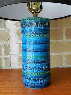 Bitossi Lamp - Rimini Blue...still searching for one.