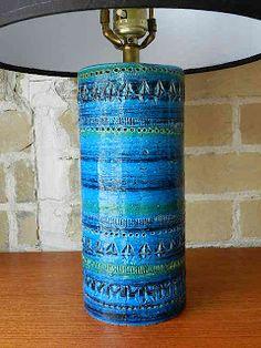 Bitossi Lamp - Rimini Blue...still searching for one.