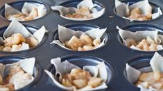 Wonton Apple Pie Bites ---> I'm making these this today! They look fun for lunchbox treats. via Jo Cooks #cupcakes #fall