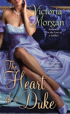 Currently reading my signed copy of The Heart of a Duke By Victoria Morgan, from the author herself!