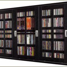 Cd Storage Cabinet With Doors