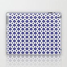 Mediterranean tiles pattern Laptop & iPad Skin
