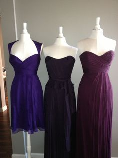 New Purple Amsale Color Combos | Ready or Knot | Omaha Bridal Shop