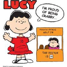 Lucy Van Pelt...My favorite Peanut!