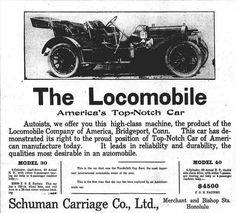 Hawaii's First Automobiles - Hawai'i Digital Newspaper Project