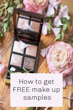 How to get free make up samples, free make up is perfect for those seeking beauty on a budget. So many brilliant ways to get no-cost samples Makeup Companies, Makeup Brands, Free Makeover, Get Free Makeup, Free Makeup Samples, Spoil Yourself, High End Makeup, Personal Hygiene, Budgeting Tips