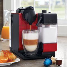 Nespresso® & Delonghi® Lattissima Plus, Red | Sur La Table