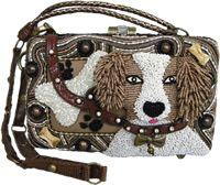"Mary Frances ""Fetch"" bag"