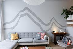 detaljee+5+sisustussuunnittelu+sisustussuunnittelija+interiordesigner+helsinki+pääkaupunkiseutu+kotisuunnittelu+seinämaalaus+vuoret+tahto&keino+Tikkurila