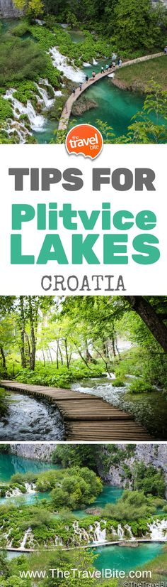 Tips for visiting Plitvice Lakes in Croatia! How to get there, where to go, and what to bring.