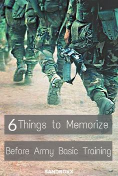Headed to Army Basic Training? Do yourself a favor by memorizing these 6 things to know and learn before Army Basic Training. By doing this, it should give you a few less things to worry about or the very least save yourself some pushups.