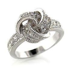 Beautiul knot ring