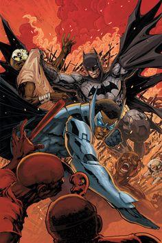 BATMAN AND BATWING