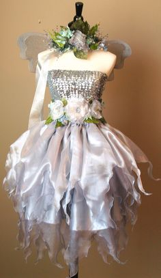 Lovely silver fairy.