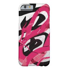 Hotpink Dragon Japanese Dragon White Background iPhone 6 Case