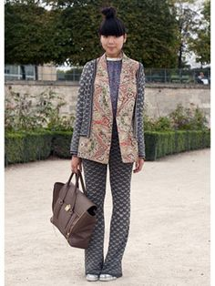 Paris Fashion Week Street Style S/S 2012: Day 7