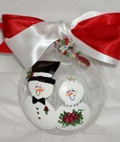 Wedding Christmas ornament