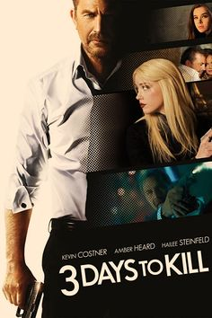 Kevin Costner~Amber Heard~Hailee Steinfeld Kevin Costner, Amber Heard, Tv Series Online, Movies Online, 3 Days To Kill, Black Panther Party, Teenage Daughters, Streaming Vf, France