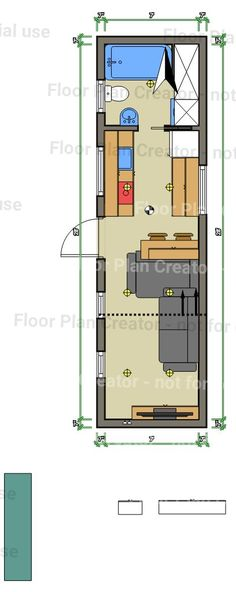 What do you guys think of my tiny house floor plan? - Imgur