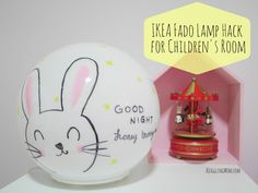 Awesome IKEA FADO Lamp Hack for Children us Room