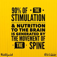 The research shows we are much healthier with a properly moving spine than without, no matter how we feel or what our symptoms may be. #getadjusted #tulsa #gonstead #chiropractic