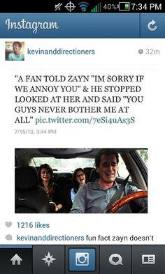@Zayn Malik IS THIS TRUE!!!?! Im pretty sure it is! @Zayn Malik You are so sweet!