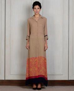 designer kurtis for girls by manish malhotra Indian Fashion Trends, Indian Bridal Fashion, Asian Fashion, Women's Fashion, Hijab Fashion, Fashion Dresses, Indian Attire, Indian Wear, Indian Style