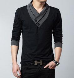 Mens Cool Slim Long Sleeve Shirt